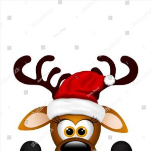 Little Reindeer with Hat