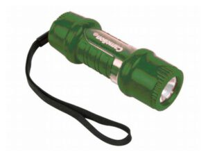 Camelion TRAVLight LED Pocket Rubber Flashlight  3AAA (batteries included); 40 lumenbs, 40h; red