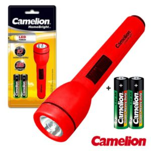 1 LED Superbright with 2 AA Batteries in Blister