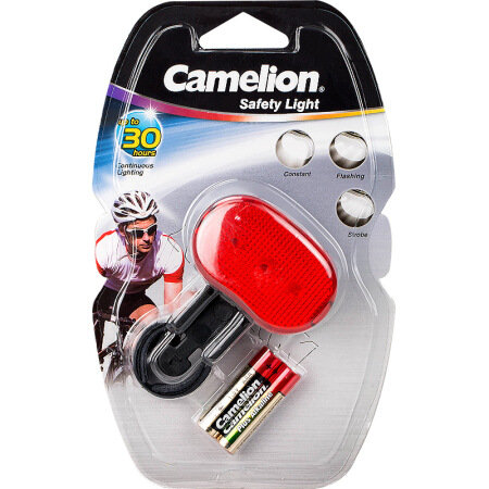 Camelion Bicycle SafetyStrobe Light 2AAA (batteries included); 30h