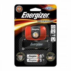 Energizer LED Headlight 2AAA (included) 55 lumens, 18h, 20m beam, 1m drop