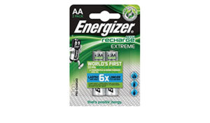 Energizer Extreme AA 2300mAh precharged, 2-pack blister